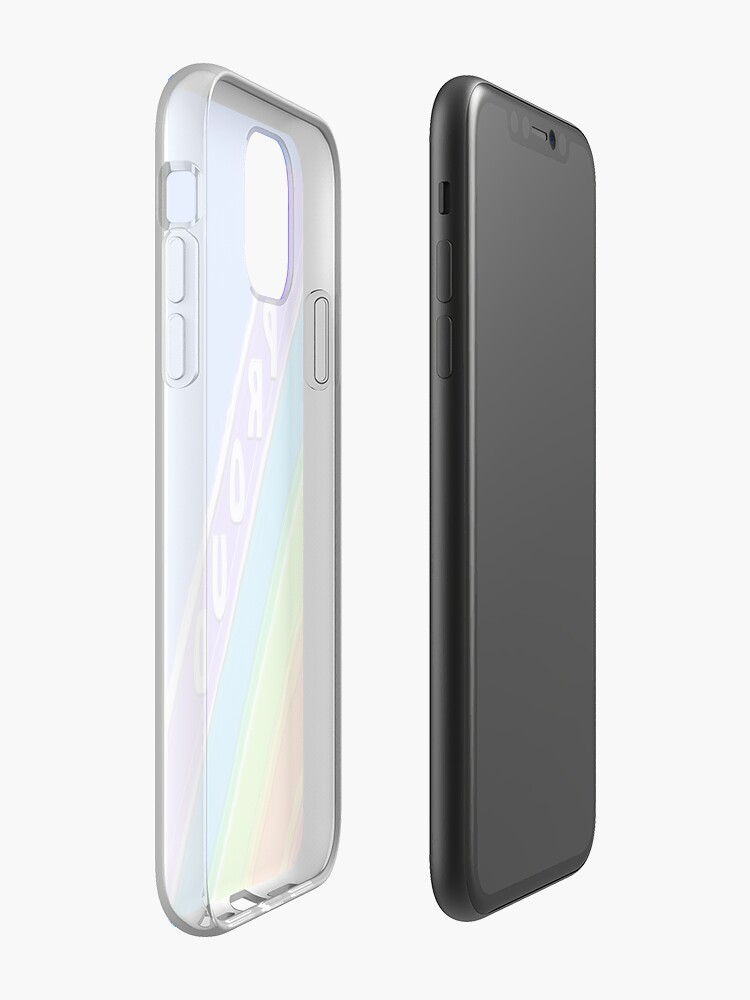Coque iPhone «Fier», par JLHDesign