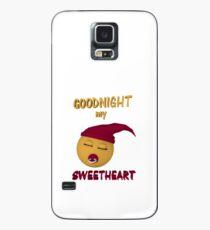 Gute Nacht mein Schatz Hülle & Klebefolie für Samsung Galaxy