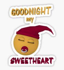 Gute Nacht mein Schatz Sticker
