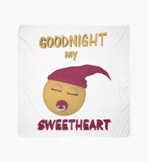 Gute Nacht mein Schatz Tuch