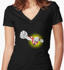 Ultraman Women's Fitted V-Neck T-Shirt