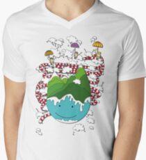 Float to infinity Men's V-Neck T-Shirt