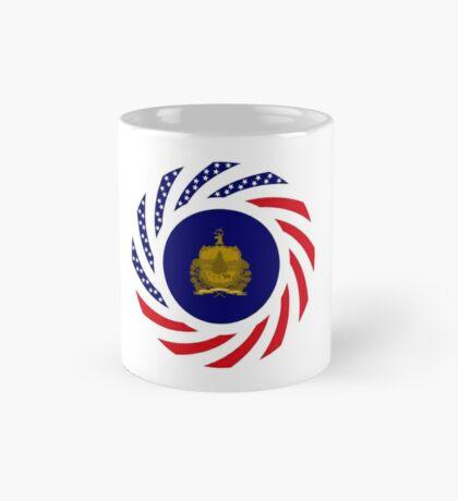 Vermont Murican Patriot Flag Series Mug