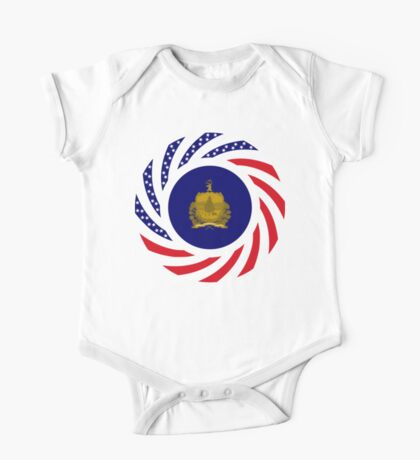 Vermont Murican Patriot Flag Series Kids Clothes