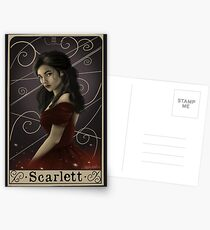 Postales Scarlett