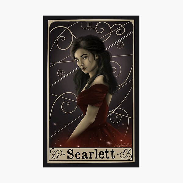 Scarlett Photographic Print