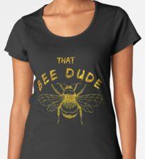 Beekeeper Shirt Honey Bee T Shirt For men Gold Women's Premium T-Shirt