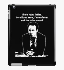 The Wisdom of Stuart comic book shop owner iPad Case/Skin