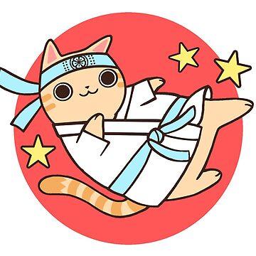 Karate Cat de SarahJoncas