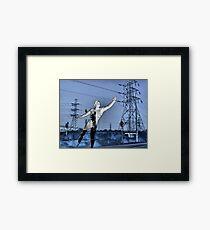 Brazen Giant of Greek Fame.... Framed Print