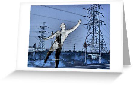 Brazen Giant of Greek Fame.... by Lynne Haselden