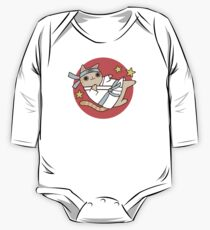 Karate Cat One Piece - Long Sleeve