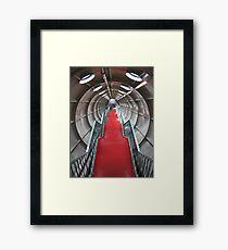 Onward and upward Framed Print
