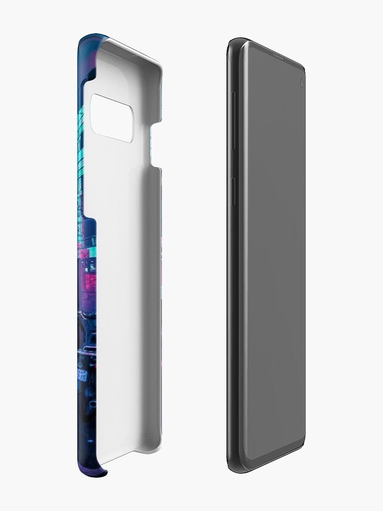 Alternate view of Tokyo - A Neon Wonderland Case & Skin for Samsung Galaxy