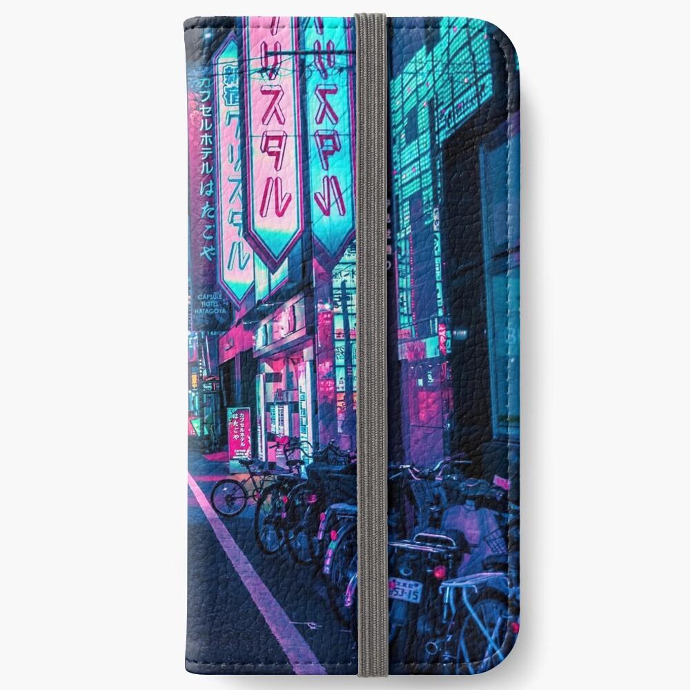 Tokyo - A Neon Wonderland iPhone Wallet