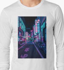 Tokio - Ein Neon-Wunderland Langarmshirt