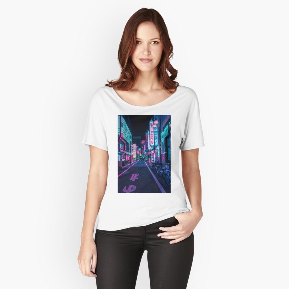 Tokio - Ein Neon-Wunderland Baggyfit T-Shirt