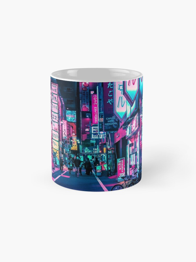 Alternate view of Tokyo - A Neon Wonderland Mug