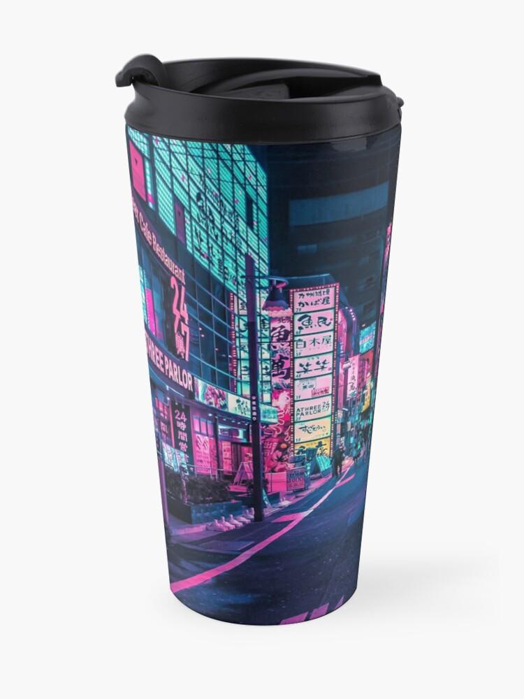 Alternate view of Tokyo - A Neon Wonderland Travel Mug
