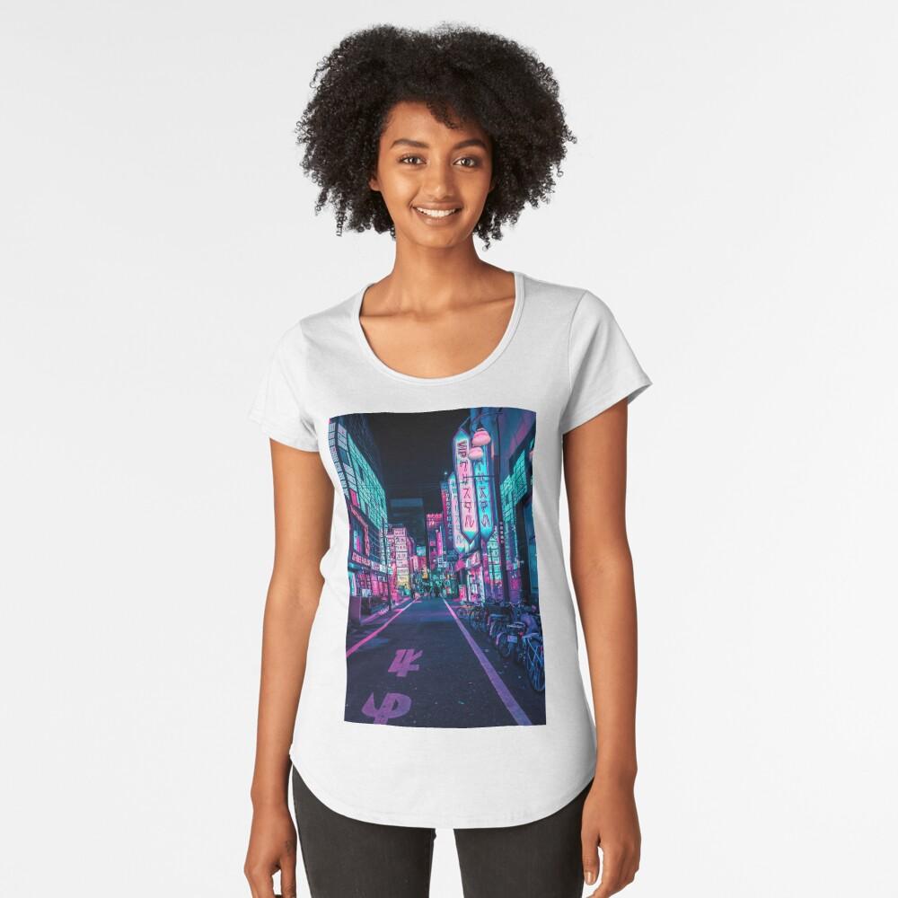 Tokio - Ein Neon-Wunderland Frauen Premium T-Shirt
