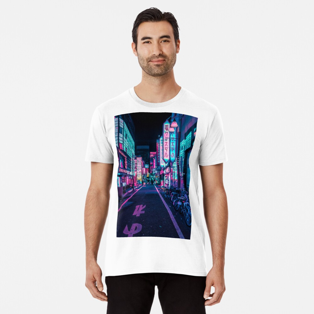 Tokio - Ein Neon-Wunderland Premium T-Shirt