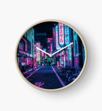 Tokio - Ein Neon-Wunderland Uhr