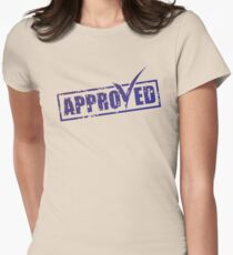 Approved label Women's Fitted T-Shirt