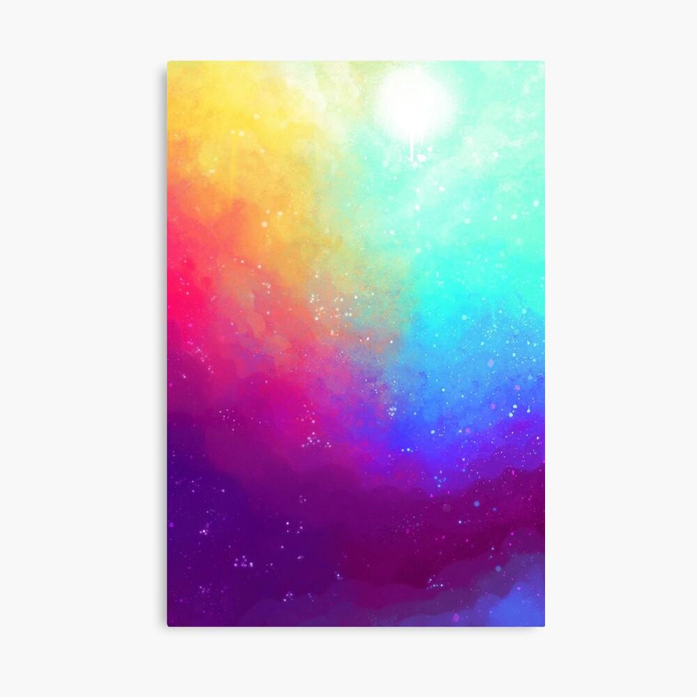 Galaxy Sky Canvas Print