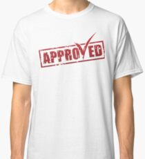 Approved label Classic T-Shirt