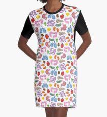 Orgel Gang T-Shirt Kleid