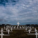 Argentine cemetery, Falkland islands. by Terry Mooney