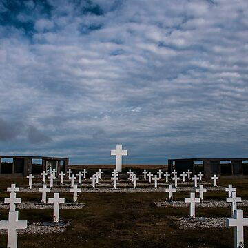 Argentine cemetery, Falkland islands. by ropedope