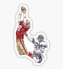 "Dwight Clark's ""The Catch"" Sticker"