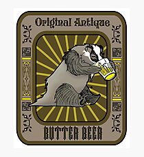 Butter Beer Badger Photographic Print