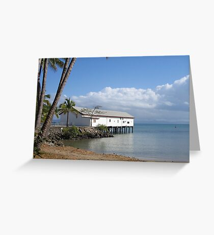 Ben Crop Marine Museum Port Douglas Greeting Card