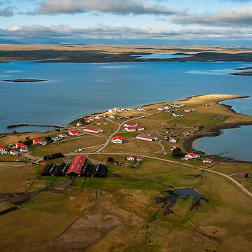 Goose Green, Falkland Islands. by ropedope