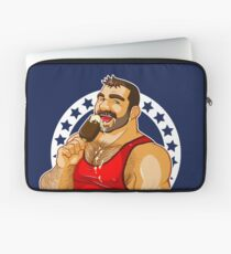BEN LIKES ICE CREAM - BRUNETTE VERSION Laptop Sleeve
