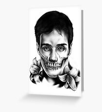Living Dead Dude Greeting Card