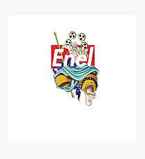 Supreme Box Logo One Piece Enel Photographic Print