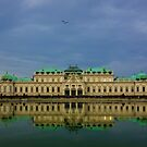 Belvedere palace by Terry Mooney