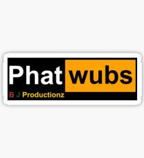BJ Productionz Sticker