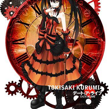 Tokisaki Kurumi Date-a-Live T-shirt by ShoukoChan