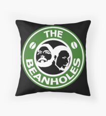 The Beanholes Logo Throw Pillow