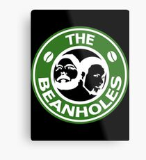 The Beanholes Logo Metal Print