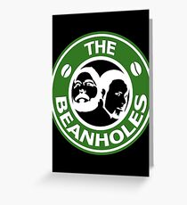 The Beanholes Logo Greeting Card