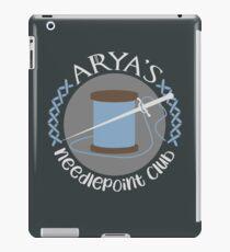 Needlepoint Club iPad Case/Skin