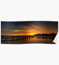 Millers Bay Sunrise Poster