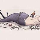 Drunken Mermaid by Puddingshades