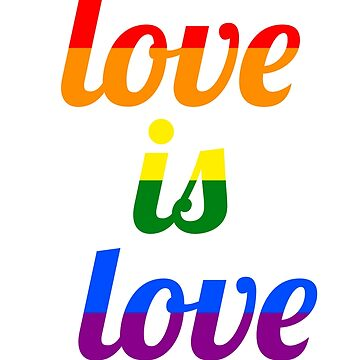 LOVE IS LOVE QUOTE LGBT by revolutionlove