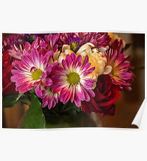 A Colorful Bouquet Poster